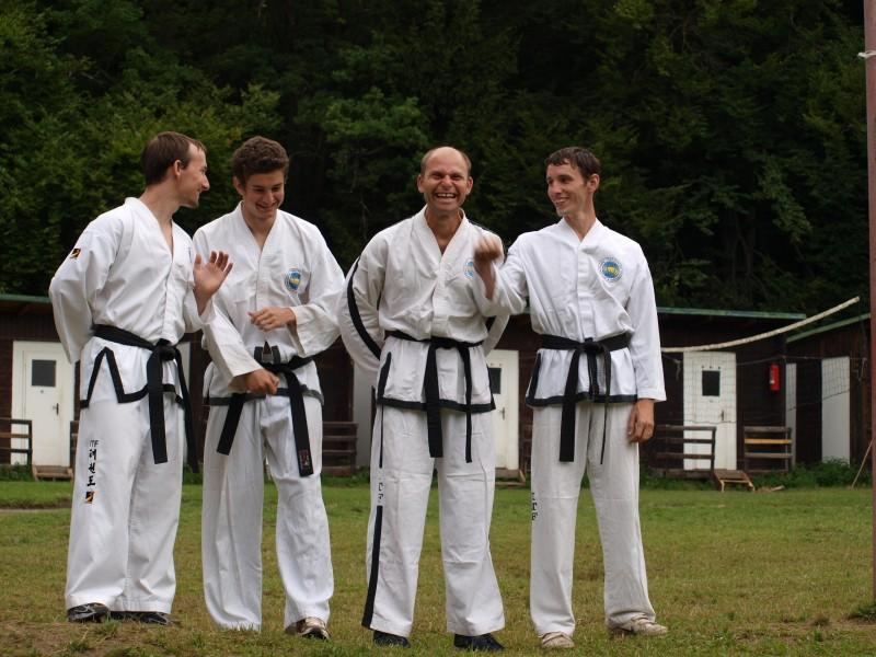 Trenéři Toigae &Sabom (zleva): Jan Labík, Michal Štochl, Petr Smejkal, Martin Procházka